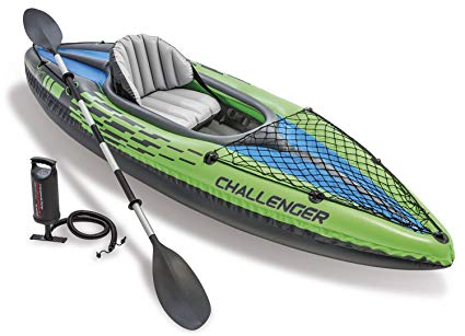 Challenger Kayak K1 Inflatable With Oar and Pump